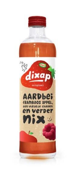 LOGO_100% Fruit syrup - Strawberry, raspberry apple & that's it