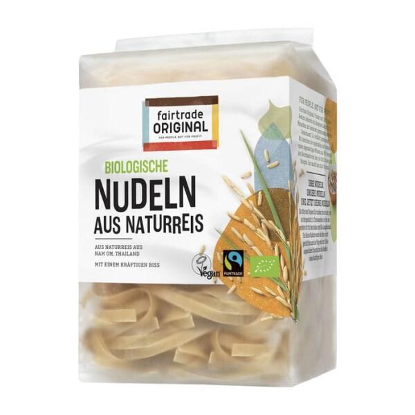 LOGO_Thai Brown Ricenoodles, Organic, Fairtrade, 225g