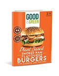 LOGO_Good&Green Smoked Ham Flavoured plant based burgers