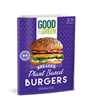 LOGO_Good&Green plant based Breaded Burgers
