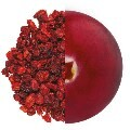 LOGO_Organic dried Cranberries, whole, standard cut, julienne and diced