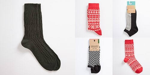 LOGO_Damen Socken