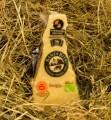 LOGO_Organic Parmigiano Reggiano, seasoned at least 30 months, from mountain milk.