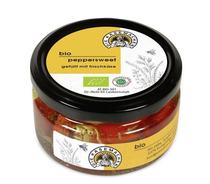LOGO_bio Peppersweet gefüllt mit Frischkäse