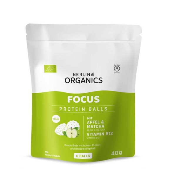 LOGO_Protein Balls FOCUS - Snack bites with Vitamin B12 from microorganisms