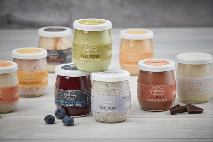 LOGO_EISL EIS - organic sheep´s milk ice cream ice cream in the glass
