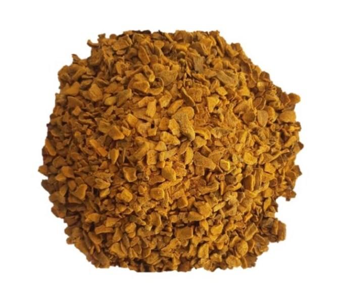LOGO_Dried turmeric, tea-cut size