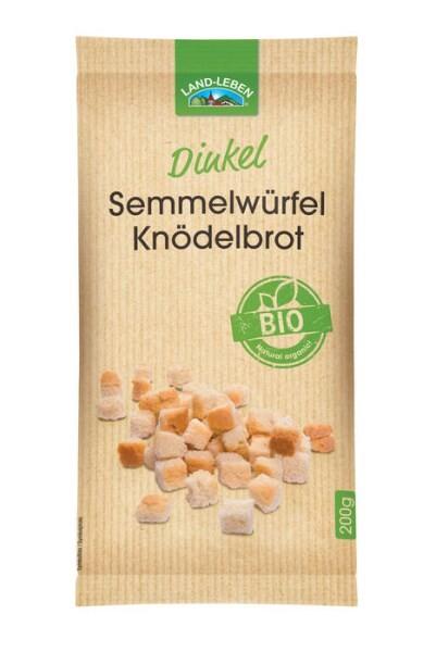 LOGO_Bio Dinkel Semmelwürfel / Knödelbrot