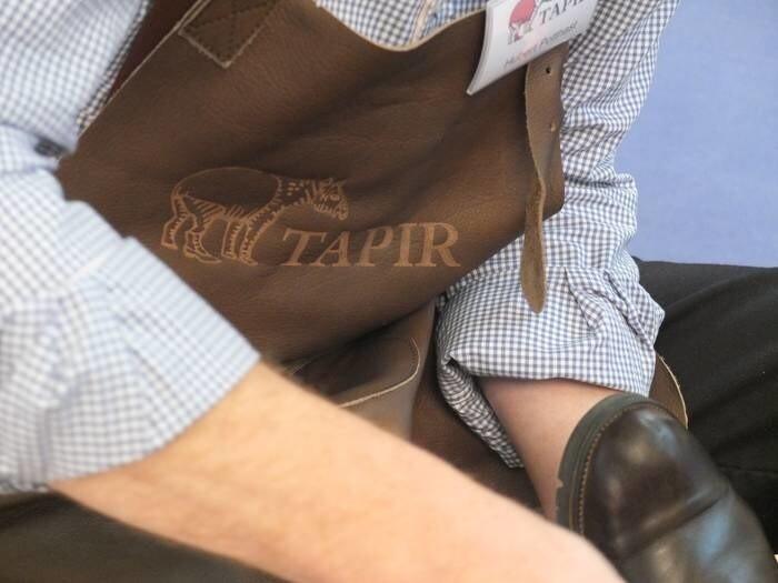 LOGO_Schuhpflege Aktion beim Tapir Wachswaren Stand