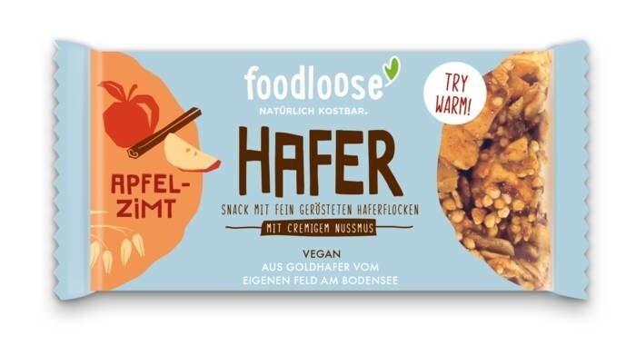 LOGO_Hafer Snack - Mit fein gerösteten Haferflocken