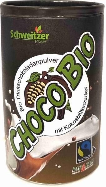 LOGO_Organic Fairtrade Drinking Chocolate Powder with Coconut Sugar