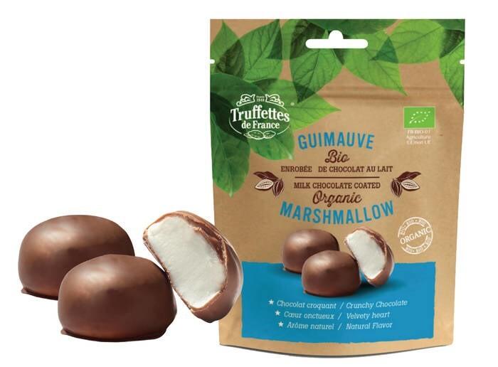 LOGO_Bio-Marshmallows mit Milchschokolade überzogen
