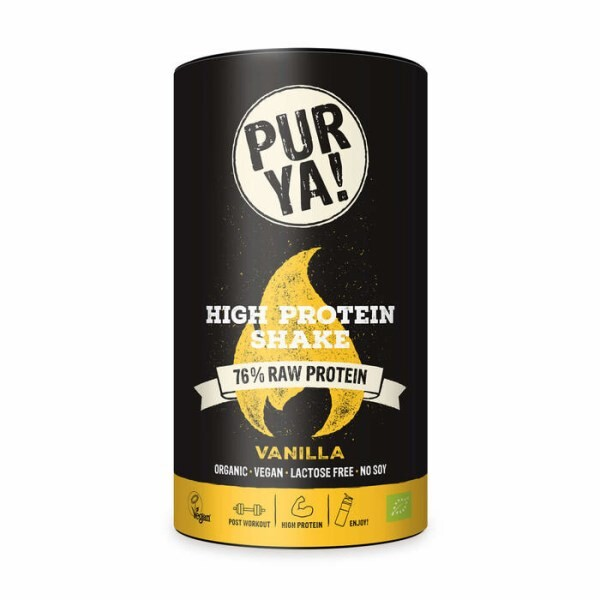 LOGO_PURYA! High Protein Shake Vanilla