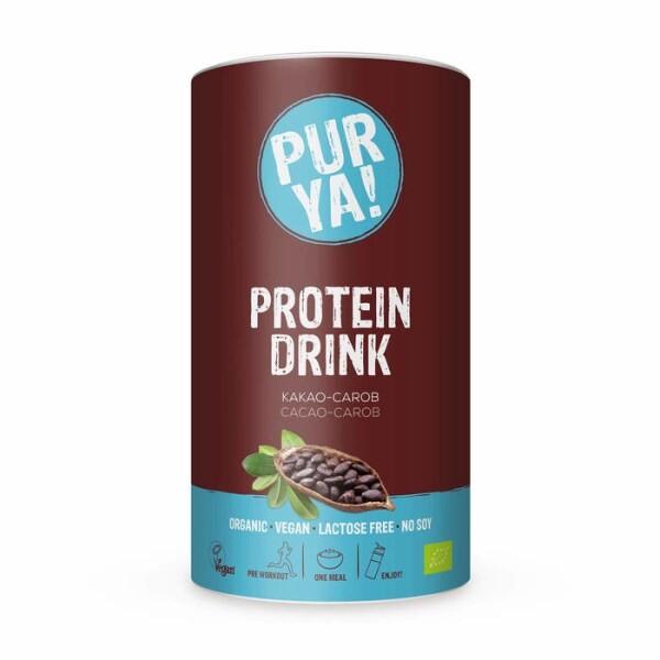 LOGO_PURYA! Cacao-Carob Organic Protein Drink