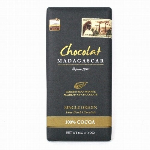 LOGO_100% Cocoa Fine Dark Chocolate Bars 85g