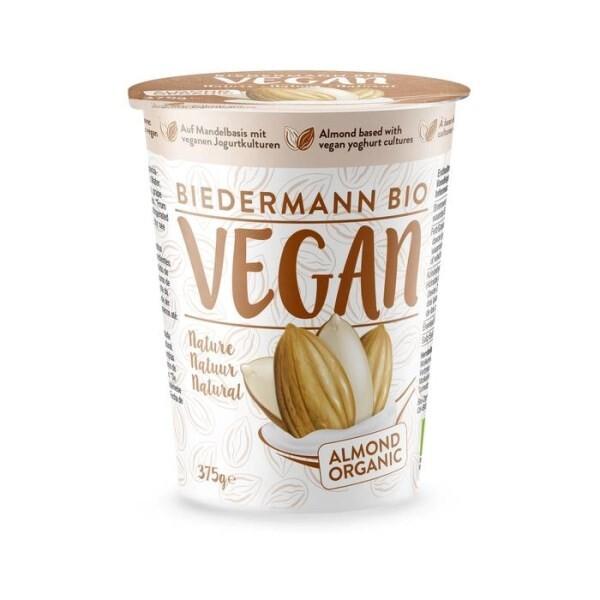 LOGO_Organic Vegan Almond fermented Nature 375g