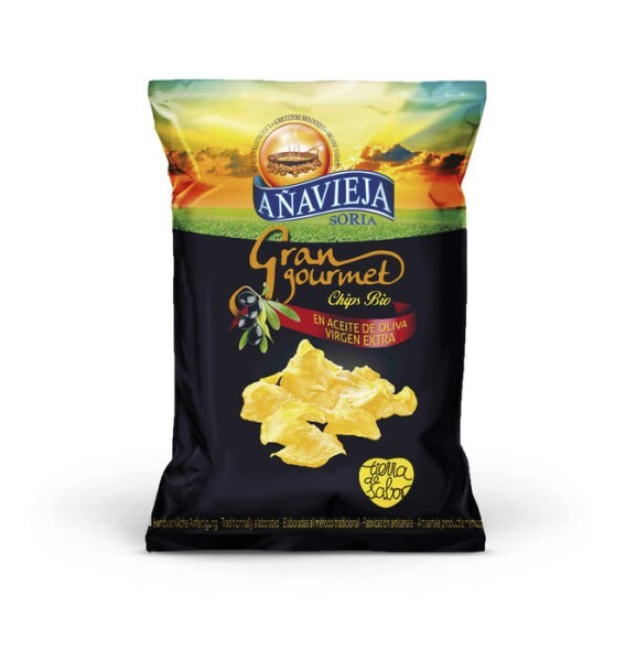 LOGO_Organic potato chips in extra virgin olive oil