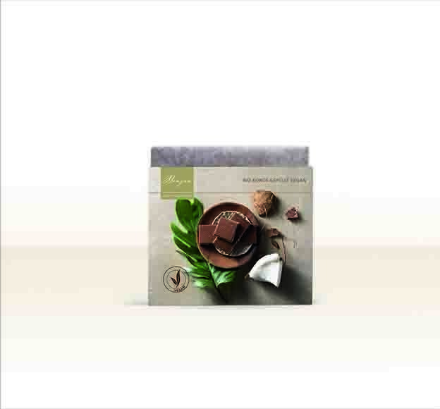 LOGO_Bio Schokoladentafel Kokos gefüllt 100g vegan