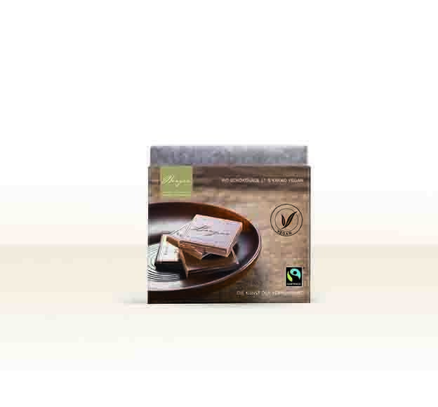 LOGO_Organic chocolate bar 37 % cocoa 70g vegan