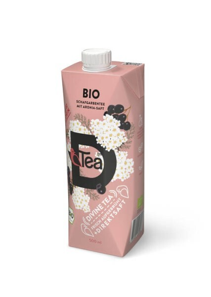 LOGO_D'Tea tea from Nordic Yarrow with Aronia Juice