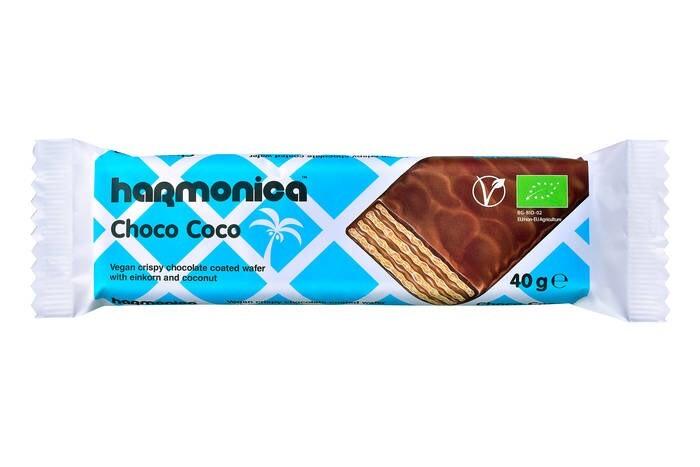 LOGO_Vegane Hasselnuss-Schoko-Crème von Harmonica