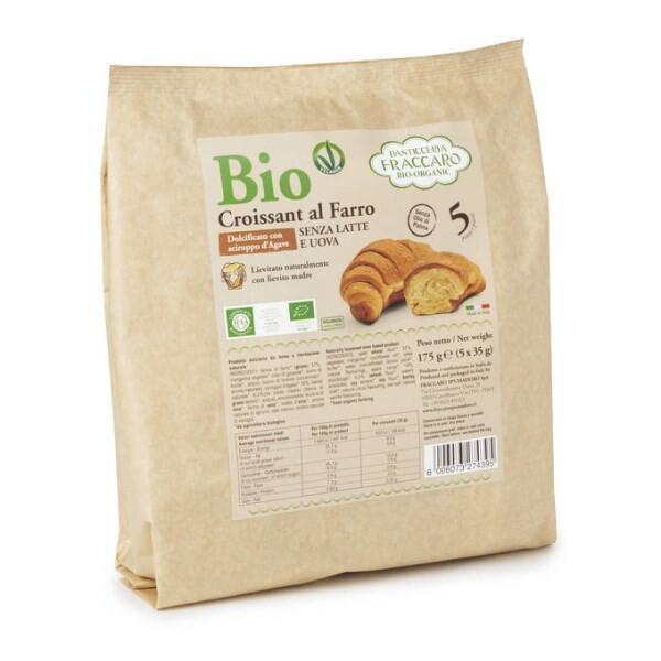 LOGO_Classic Vegan Organic Croissant With Spelt Flour