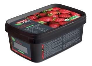 LOGO_100% FRUIT ORGANIC Frozen PUREES - Erdbeere