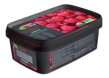LOGO_100% FRUIT ORGANIC Frozen PUREES - Himbeere