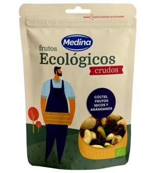 LOGO_Organic Raw Nuts mix with Cranberries