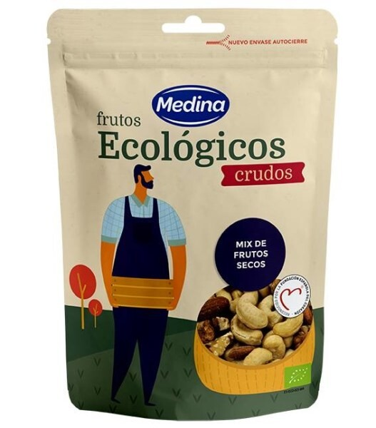 LOGO_Organic Mix Raw Nuts 100 G.