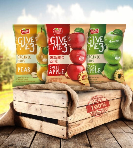 LOGO_GIVE ME THREE ORGANIC CHIPS