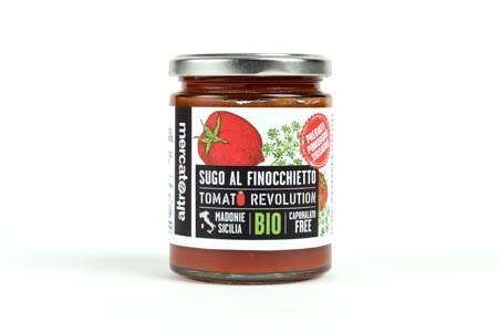 "LOGO_Ready-to-use tomato sauce ""pomodoro Siccagno"" and wild fennel"