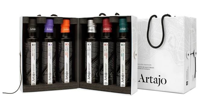LOGO_'Artajo 10' Gift case 6 varieties x 250 ml