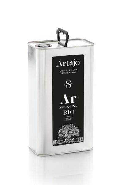 LOGO_'Artajo 8' Arbequina Extra Virgin Olive Oil 3L