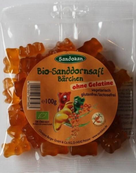 LOGO_Bio Sanddornsaft Bärchen, gelantinefrei