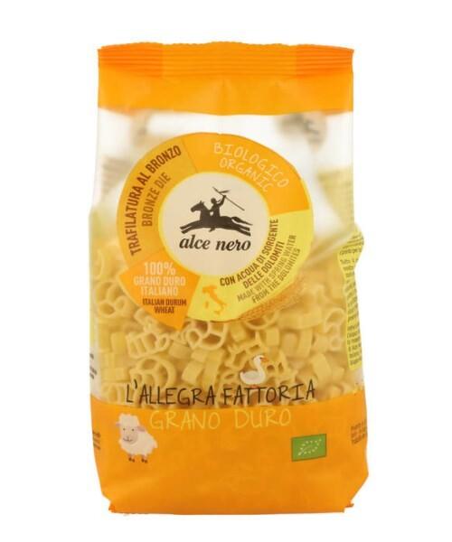 LOGO_Alce Nero animal shaped pasta