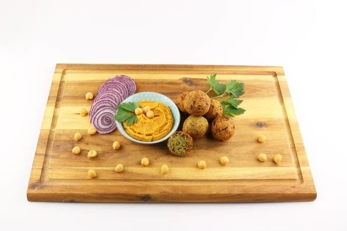 LOGO_Organic Falafel blend + Organic spice for chickpea spread