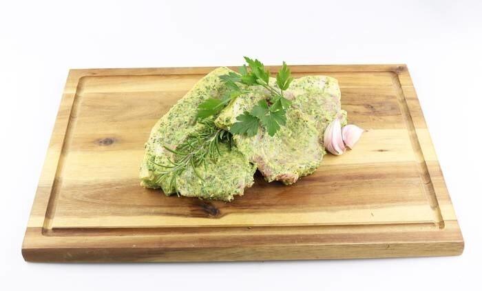 LOGO_Organic glossy seasoning oil wild garlic