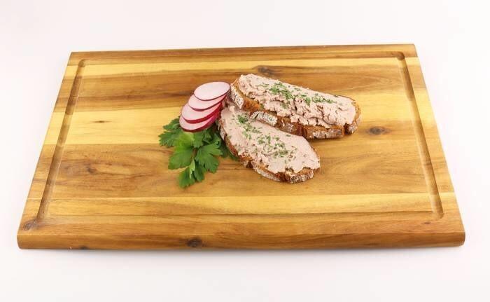 LOGO_Organic vegan spread type meat + organic parsley leaves
