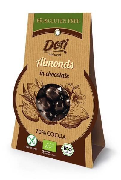 LOGO_Organic Almonds in Chocolate 70% (gluten free)