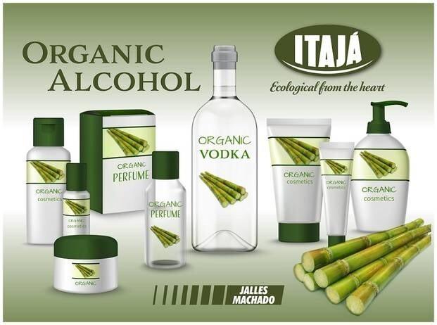 LOGO_ORGANIC ALCOHOL