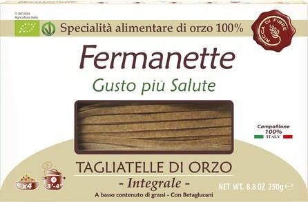 LOGO_Fermanette, Tagliatelle aus 100% Bio Gerste