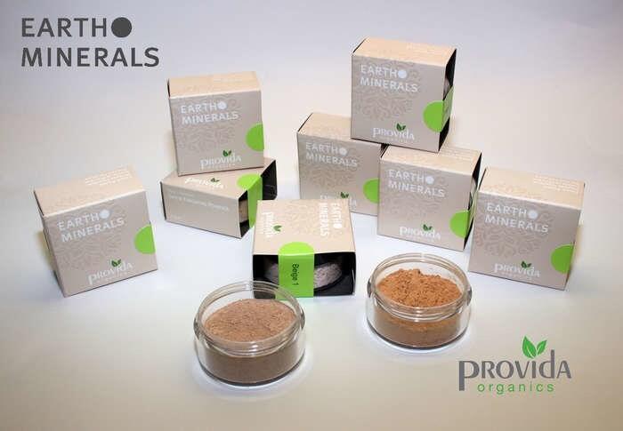 "LOGO_""Provida EARTH MINERALS Make-Up Mineralpowder -pure vegan"""
