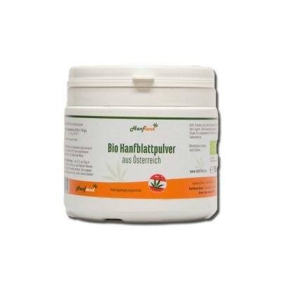 LOGO_hemp leaf powder from Austria for green smoothies