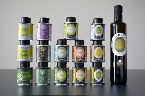 LOGO_Little tin 100 ml of extra virgin olive oil