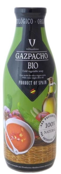 LOGO_Organic Gazpacho Villaolivo 1L