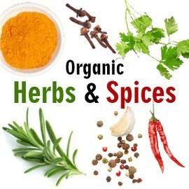 LOGO_Steam sterilized Organic Spices & Herbs
