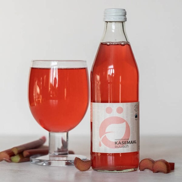 """LOGO_""""RHABARBIE"""": BIO Birkendrink fermentiertert mit Milchsäurebakterien und Rhabarber"""