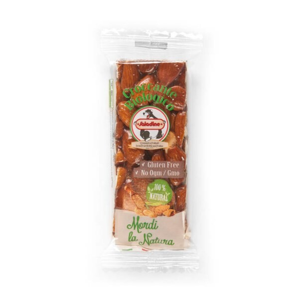 LOGO_Organic Almonds brittle bar with honey