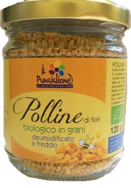 "LOGO_ORGANIC BEE POLLEN ""PUNGIGLIONE"""